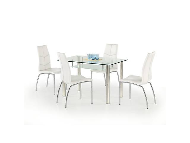 купить бу Комплект мебели столик Olivier + K114 стулья Halmar в Львове