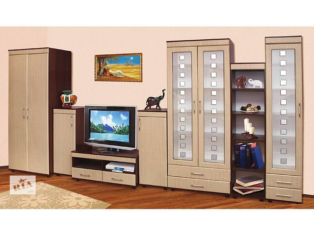 бу Мебель для гостиной. Модульная система. Стенка в гостиную. Шкаф, комод, журнальный столик в Киеве