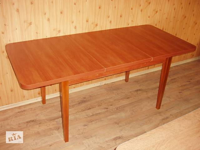 Обеденный кухонный стол раздвижной  Барвинок(130*80)+50см- объявление о продаже  в Хмельницком
