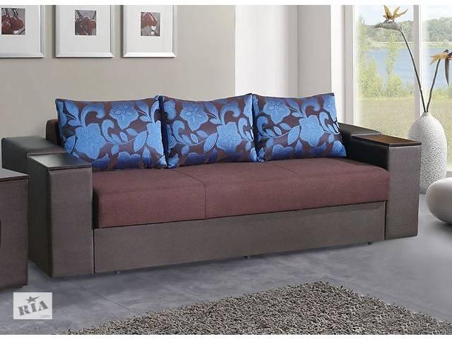 продам Прямой диван Sky Soft Фаворит 255 см Коричневый бу в Киеве