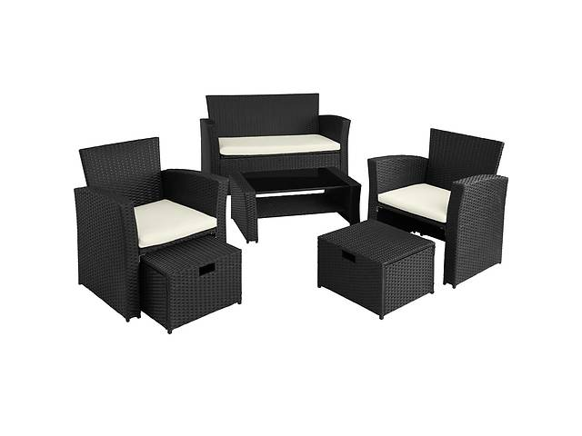 купить бу Садовая мебель из ротанга Modena, черная. Под заказ в Львове