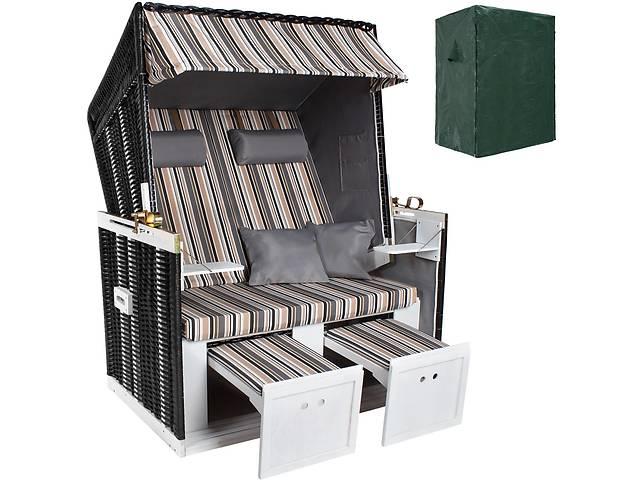 продам Садовый пляжный набор стульев черным / серым / коричневым + чехол бу в Львові