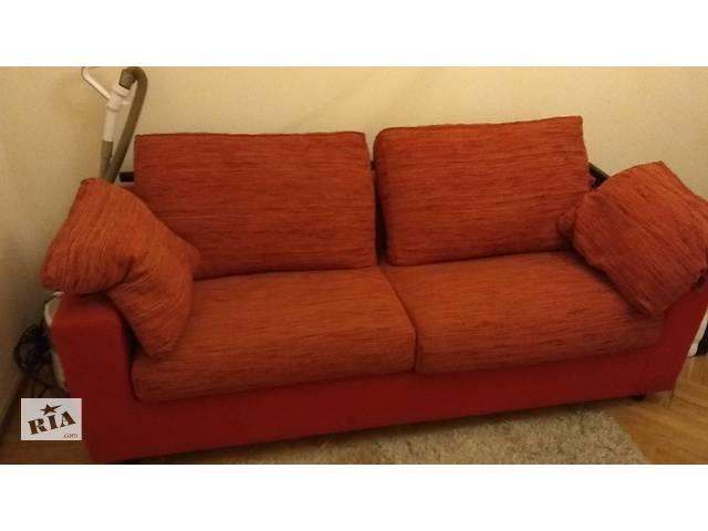 срочная продажа шикарный мягкий уголокрасскладной диван2 кресла