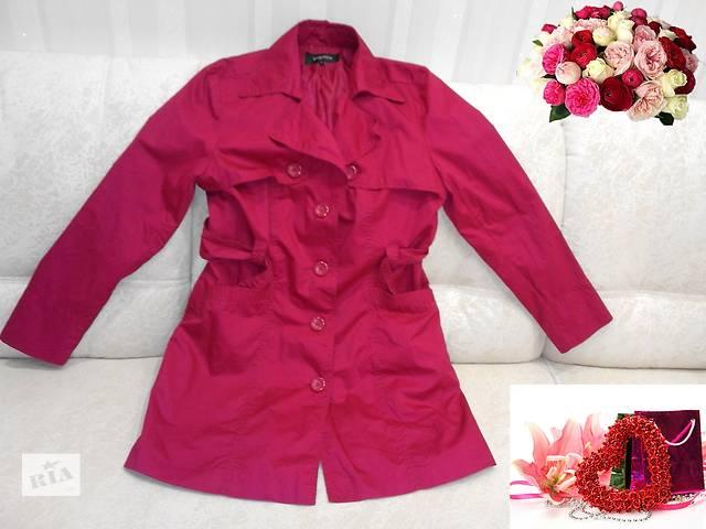 Фирменный плащ - пальто из хлопка.- объявление о продаже  в Полтаве