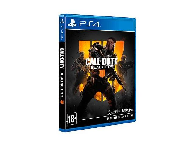 бу Игра SONY Call of Duty: Black Ops 4 %5bBlu-Rayдиск%5d PS4 (88225RU) в Киеве