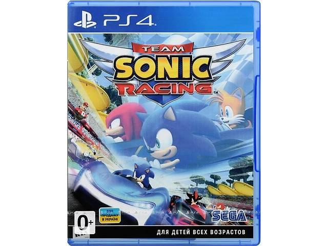 продам Игра Team Sonic Racing (PS4, Русские субтитры) бу в Киеве