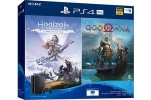Игровая приставка PlayStation 4 Pro 1Tb Black (God of War + Horizon Zero Dawn CE) (9994602)