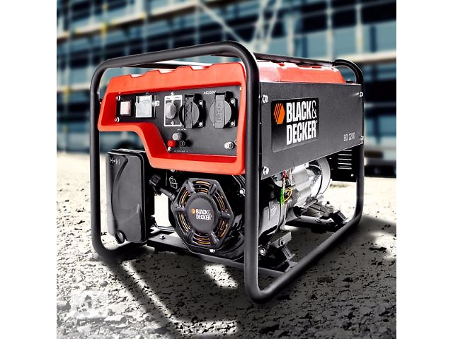 купить бу Генератор бензиновый Black & Dekker 2200 распродажа со склада в Одессе