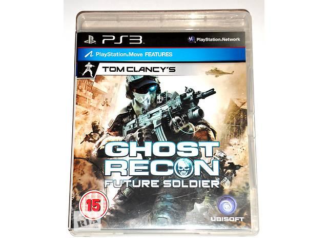 купить бу Ghost Recon Future Soldier PS3 диск, на русском в Запорожье