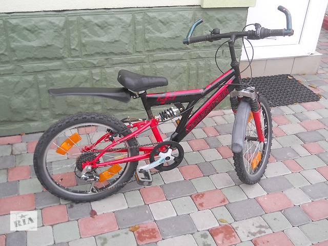 Горный велосипед Counter 6 скоростей. 20 колеса. Вилка с амортизаторами- объявление о продаже  в Хмельницком