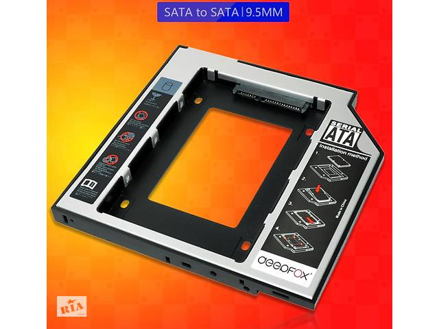 купить бу Карман-адаптер для ноутбука HDD/SSD SATA 3.0 в Хмельницком