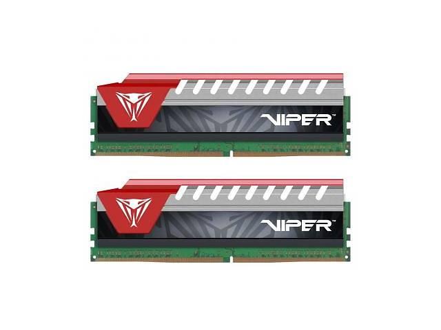 купить бу Модуль пам'яті для комп'ютера DDR4 8GB (2x4GB) 2800 MHz Viper Elite Red Patriot (PVE48G280C6KRD) 2, в Дубно (Ровенской обл.)