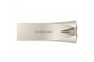 USB Flash (флешка) Samsung 256 GB Bar Plus Champagne Silver (MUF-256BE3/APC)