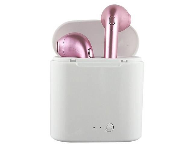бу Bluetooth наушники Flying-Digital Tech.Co. Ltd. HBQ I7S TWS Stereo Pink (hub_HzrW17488) в Києві