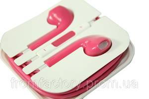 Наушники Apple EarPods с пультом дистанционного управления и микрофоном (цветные):Розовые