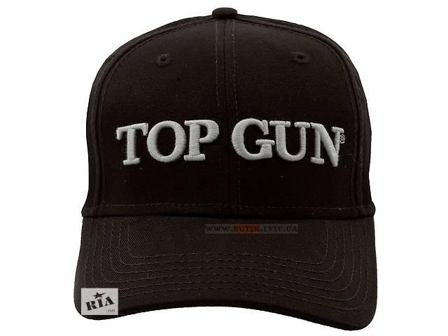 бу Кепка Top Gun Embroidered Cap (чорна) в Львове