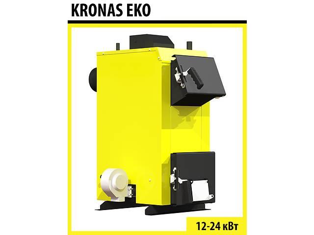 продам Твердотопливный котёл KRONAS EKO 12 кВт бу в Виннице