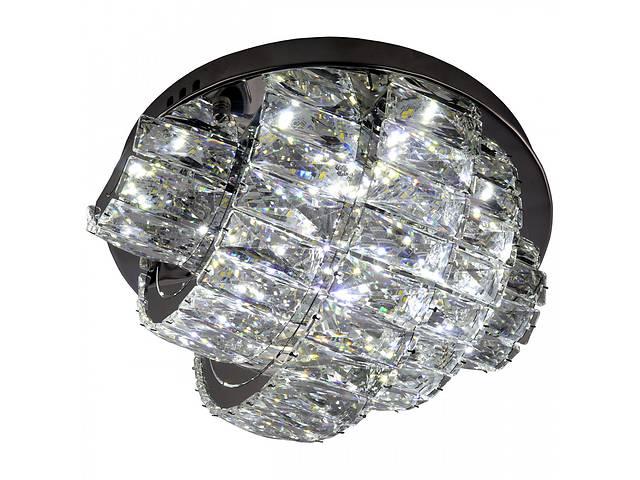 Люстра потолочная хрустальная Led с пультом C8772/350 Хром 19х35х35 см.- объявление о продаже  в Одессе
