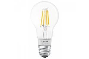 Светодиодная лампа LED Osram SMART LED Е27 5.5-60W 2700K 220V A60 FILAMENT Bluetooth 4058075091061