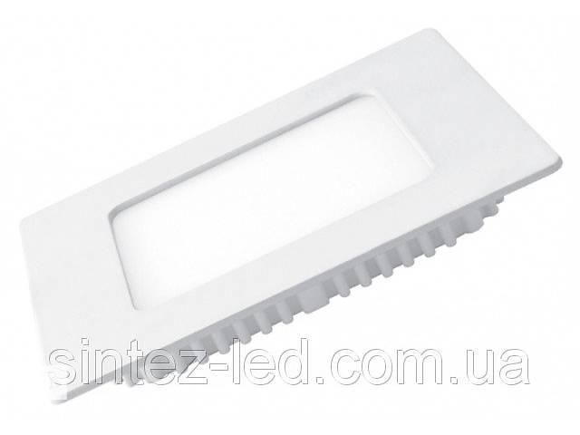 бу Светодиодная панель Eurolamp LED-PLS-4/3 4W 3000K (квадрат.бел.) Код.57886 в Киеве