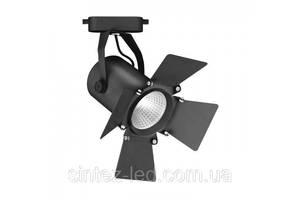 Светодиодный трековый светильник AL-110 30W 4000К черный Код.59539
