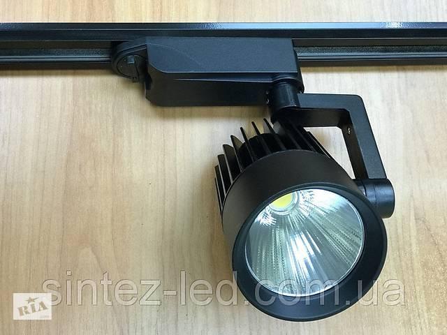 продам Светодиодный трековый светильник SL-4003 30W 3000К черный Код.58051 бу в Киеве