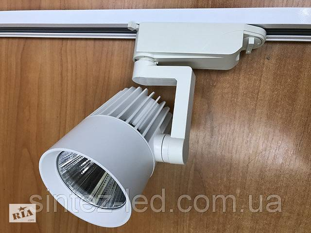 бу Светодиодный трековый светильник SL-4003 30W 4000К белый  Код.58438 в Киеве
