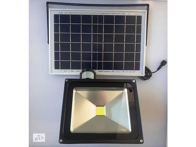 продам Светильник LED на солнечной батарее ZJL GY-SFL-30A c датчиком движения 30w. бу в Дубно