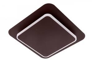Светильник потолочный Led 8662/1-coffee Коричневый 5х25х25 см.