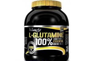 Глютамин BioTech100% L-Glutamine500 g unflavored