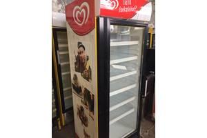 морозильный стеклянный шкаф