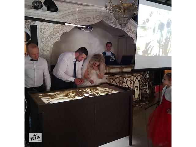 Песочная анимация на свадьбу оригинальное предложение руки и сердца- объявление о продаже  в Виннице