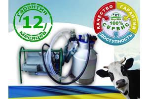 Доильный аппарат до 3 коров недорогой, экономичный, качество гарантированно