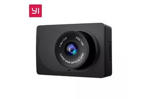 Original Відеореєстратор Xiaomi Yi Compact Dash Camera Black YCS.1A17 car DVR видеорегистратор Full HD английский сяоми