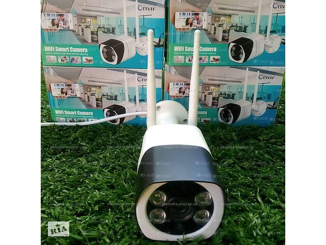 Камера зовнішня металева WiFi IP 2Mp 1080P є запис звуку SD карта ICsee вулична- объявление о продаже  в Херсоні
