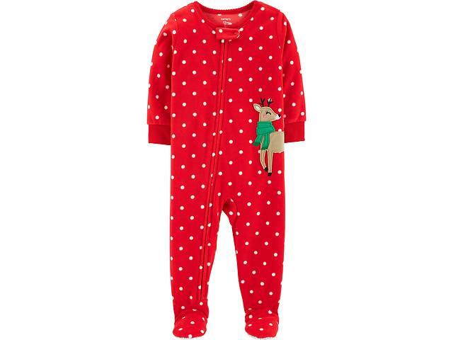бу Флисовые пижамы-человечки для девочек до 5 лет Carters(США) в Черновцах