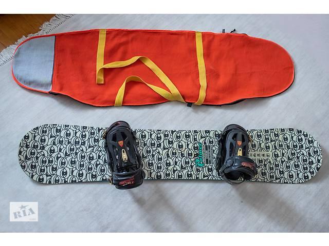 продам Продам Сноуборд + крепления + сумка бу в Калуше