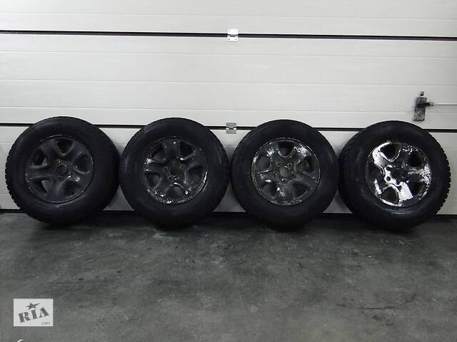 купить бу Б/у диски шины для Suzuki Grand Vitara 16x6 1/2j 5x114.3 Dia 60.1 Savero WT 225/70 R16 GT Radial 2012г. в Львове
