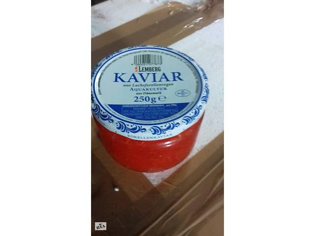 купить бу Икра красная форели 250гр Лемберг в Запорожье