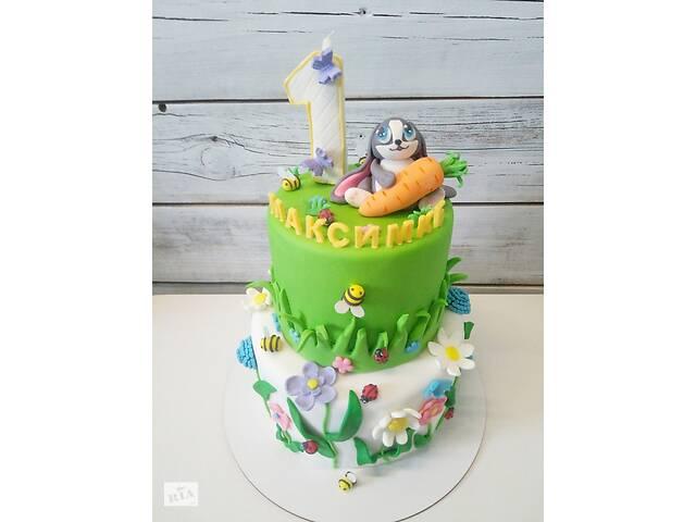 бу Детские торты на заказ!  Учту ваши предпочтения по дизайну и вкусу торта!  в Киеве