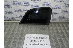 Стекло заднее угловое левое Hyundai Tucson 2,0 CRDI