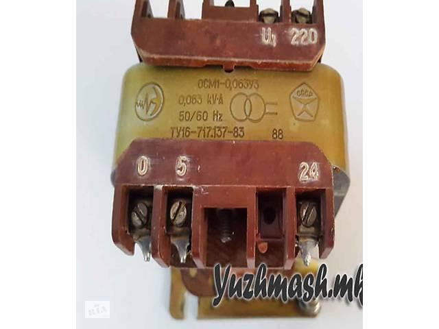 купить бу Трансформатор напруги ОСМ1 0,063 220/5,24 - однофазний трансформатор в Вінниці