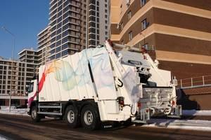 Оснащение гидравлического оборудования мусоровоз