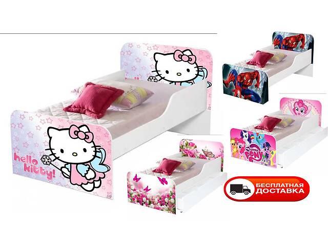 Детская кровать 160/80см с бортиками Агора - бесплатная доставка!- объявление о продаже  в Львове