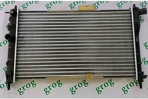 Радиатор охлаждения для Chevrolet Aveo. Производитель Grog.