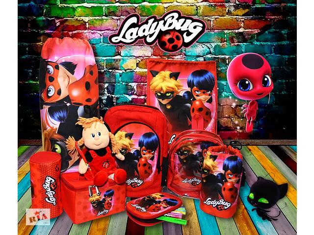 купить бу Купить школьный рюкзак принт Леди Баг Супер кот Miraculous Ladybug et Chat Noi городской рюкзак в Харькове