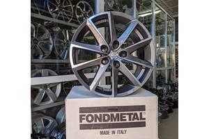 Fondmetal 7600 Titanium+polished R17 5x112 ET42 DIA57,1 7,5j