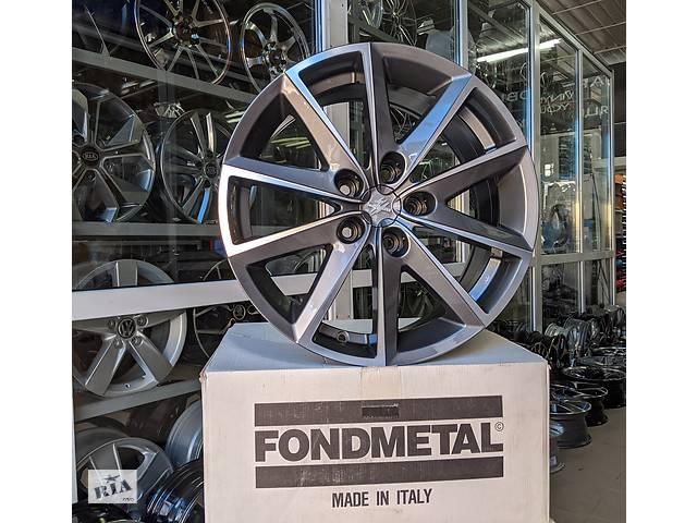 Fondmetal 7600 Titanium+polished R17 5x112 ET42 DIA57,1 7,5 j- объявление о продаже  в Києві