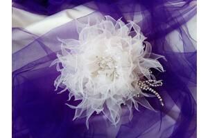 Свадебные украшения. Цветы ручной работы на заказ.