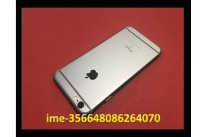 IPhone 6s 32Gb спейс грей Б/у Состояние=супер Оригинал Неверлок работает=100% батарея=отличная